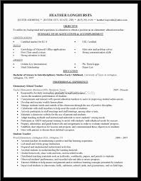 resume for teachers experience sample customer service resume resume for teachers experience resume for sample purposes only by c2009 resumes for teachers summary examples