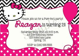 Hello Kitty Birthday Invitations - Invitations Templates ... Invitation Templates - Hello Kitty Personalized Birthday Invitations ...