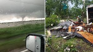 Imelda triggers tornadoes, flash flooding, severe thunderstorms in ...