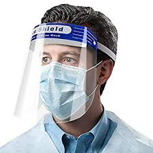 Bestie Full Face Protective Shield <b>Visor</b>,Plastic <b>Adjustable</b> ...