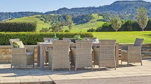 Buy Alberta <b>9</b>-<b>Piece Outdoor</b> Dining Setting | Harvey Norman AU