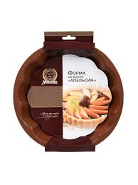 "<b>Форма из силикона</b> ""Апельсин"" 24х4 см, шоколад, MARMITON /20 ..."