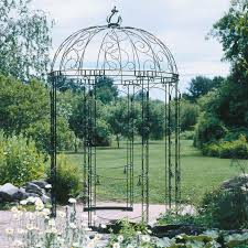 achla designs rhapsody 65 x 65 ft wrought iron pavilion gazebo gazebos at hayneedle achla designs wrought iron