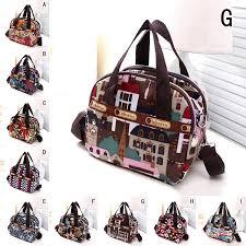 Новая <b>мода</b> цветок печати <b>женщин</b> сумочка плечо девушки ...