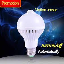 <b>E27</b> PIR Motion Sensor Bulb Smart <b>Led</b> Lamp <b>E27 5W</b> 7W 9W ...