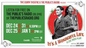 It's A <b>Wonderful Life</b>: A Live Radio Play | The Gamm Theatre ...