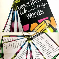 ideas about descriptive words on pinterest   short o  short    free create a mini booklet of descriptive words perfect for a writing center or