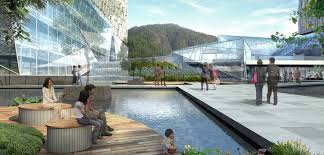 healthcare spaces of the future smart design healthier patients healing garden at fifth xiangya hospital integrates architecture archdaily google tel aviv office