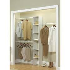 ClosetMaid 11.5 in. D x <b>12</b> in. W x 83 in. H White <b>Custom</b> Laminate ...