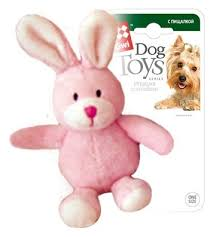 <b>Игрушка</b> для собак <b>GiGwi Dog</b> Toys Зайчик (75119) — купить по ...
