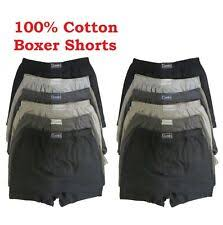 <b>Mens 100 Cotton</b> Boxer Shorts for sale | eBay
