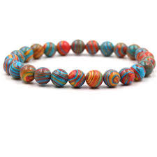 <b>HOBBORN Trendy</b> Natural Stone Chakra <b>Women</b> Bracelet 8mm ...