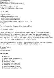 Sample Resume  Admission Officer Cover Letter Sle Tutoring  Mr  Resume