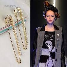 bluelans  1Pc Fashion Faux <b>Pearl Rhinestone Brooch Jewelry</b> ...