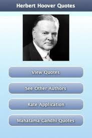 Quotes On Depression Hoover. QuotesGram via Relatably.com
