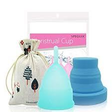 SPEQUIX <b>1 PCS</b> S Size <b>Menstrual</b> Cup and <b>1 PCS</b> Sterilizing Cup ...