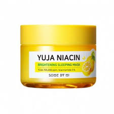 Some By Mi Yuja Niacin Brightening Sleeping Mask - Осветляющая ...