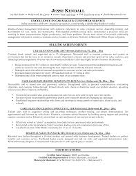 car s resume auto parts manager resume sample unforgettable automotive example resume and cover letter ipnodns ru