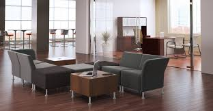 large size of banner brampton office furniture set black leather reception chairs with anti microbial backrest black sofa set office