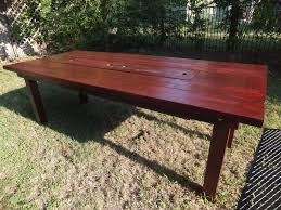 patio table set san diego farm: patio table with built in cooler