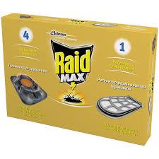 Ловушка от <b>тараканов Raid</b>, регулятор размножения 1шт. + ...