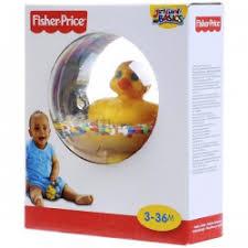 """Отзывы о Игрушка для игры в воде <b>Fisher Price</b> """"Утенок в <b>шаре</b>"""""""