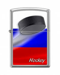 Купить <b>Зажигалка ZIPPO Российский хоккей</b> 200 RUSSIAN ...
