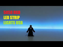 <b>LED</b> Strip Lights 5050 <b>RGB USB</b> Under $15 - YouTube