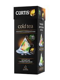 Холодный <b>черный чай</b> с белым персиком Cold <b>Tea</b>, в пирамидках ...