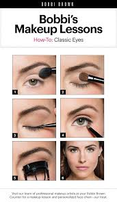 Makeup Lessons by <b>Bobbi Brown</b>: Classic <b>Eyes</b> | Brown makeup ...