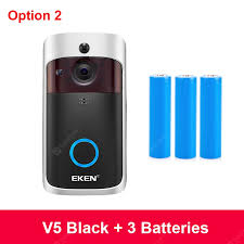 EKEN V5 Smart IP Video Intercom <b>WIFI</b> Video Door Phone Door Bell ...