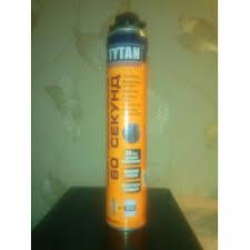 Отзывы о Монтажная <b>пена</b>-<b>клей TYTAN</b> 60 секунд