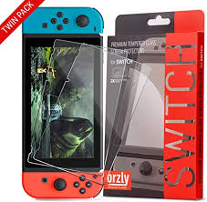 Orzly <b>Glass Screen</b> Protectors Compatible with Nintendo Switch ...