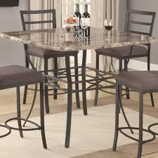 tall dining chairs counter:  gorgeous dining room design with marble counter tall dining table classy dining set furniture for