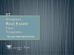 gorgeous real estate flyer templates  you can create fast and  27 gorgeous real estate flyer templates you can create fast and you can make fast and