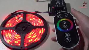 RGB controller с сенсорным управлением - YouTube