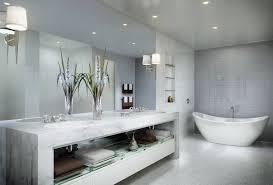 white bathroom floor: image of white bathroom floor tiles