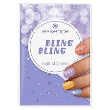 <b>Наклейки для ногтей</b> `ESSENCE` <b>BLING BLING</b> стразы и ...