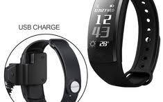 Buy <b>Online Q8 Smart</b> Bracelet Heart Rate Monitor Fitness Tracker ...