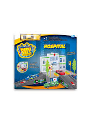 Игровой <b>набор Dave Toy</b> Больница с 1 машинкой DaveToy ...