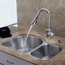 undermount kitchen sink stainless steel: discontinued  inch undermount double bowl stainless steel kitchen sink with chrome kitchen faucet and