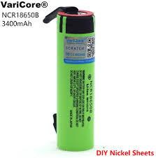 <b>VariCore New Original NCR18650B</b> 18650 li ion battery 3400 mAh ...