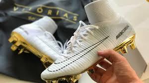 ronaldo white boots