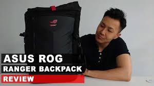 <b>ASUS ROG</b> Ranger Backpack Review - YouTube