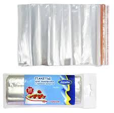 <b>Antella Пакеты</b> для заморозки и хранения полиэтиленовые c ...