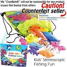 CozyBomB Magnetic Fishing Toys Game Set for Kids ... - Amazon.com