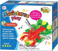 <b>Donerland Набор для лепки</b> Miniatures Play Lobster — купить в ...