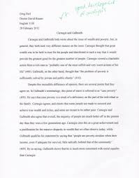 essay carnegie and galbraith greg heil com this is a short essay that i wrote for my advanced composition class in the spring of 2012 the check plus grade denotes it as roughly an a his comment