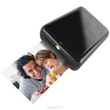 <b>Принтер Polaroid Zip</b>, <b>Black</b> карманный — купить в интернет ...