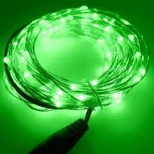 <b>LED</b> STRING LIGHT <b>GREEN</b> 12V <b>10M 100LED</b> IP67